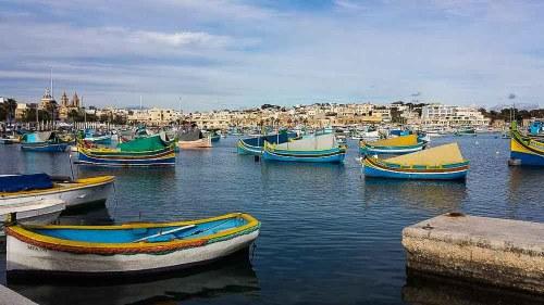 Malta in inverno: Marsaxlokk