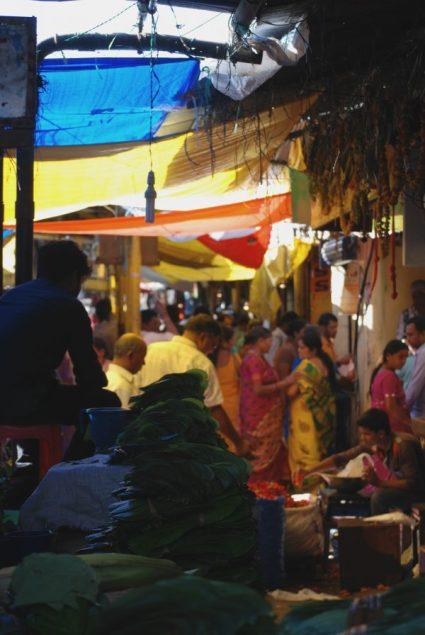 Devaraja, il mercato di Mysore