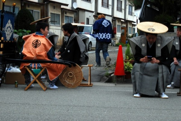 Takayama autumn festival, a needed break