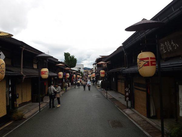 La splendida città vecchia di Takayama