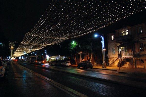 Luminarie ad Haifa
