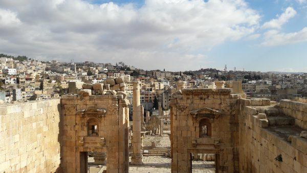 Visitare Jerash, Giordania