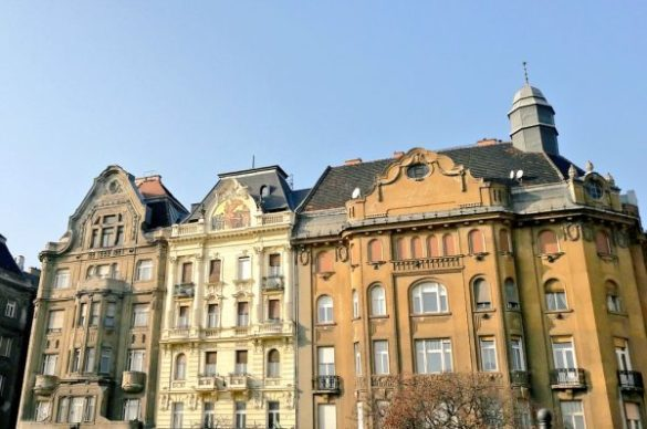 I palazzi di Budapest