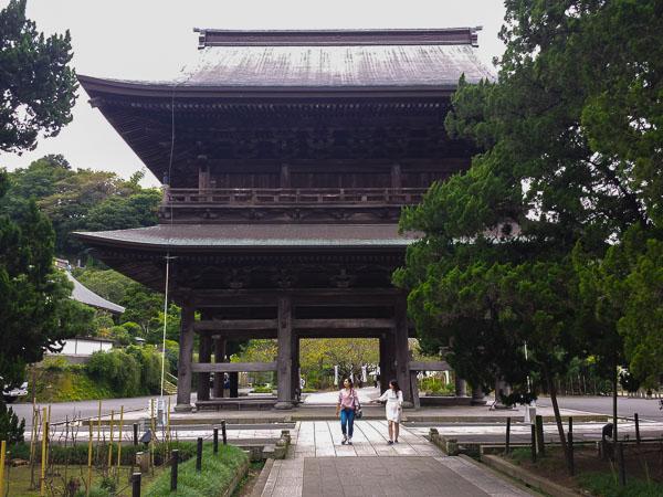 La porta Sanmon del tempio Engakuji