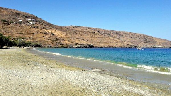 Le spiagge di Serifos: Sikamia