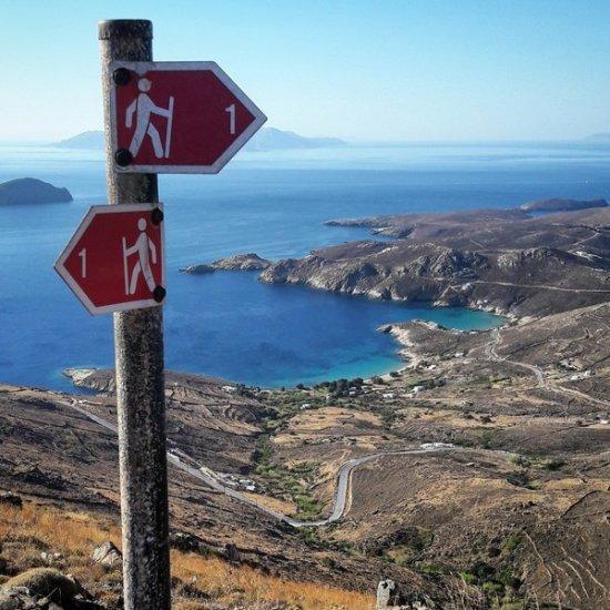 Sul sentiero 1 di Serifos, da Chora a Kallistos