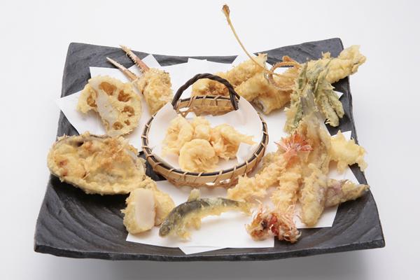 Tsunahachi tempura, dal sito
