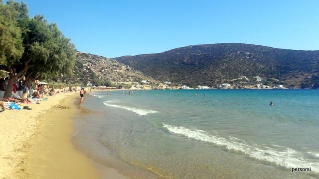 La spiaggia di Vathi, Sifnos