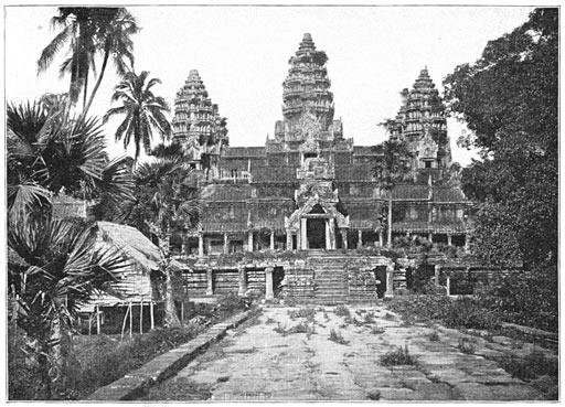 Angkor Wat, foto di Emile Gsell del 1866