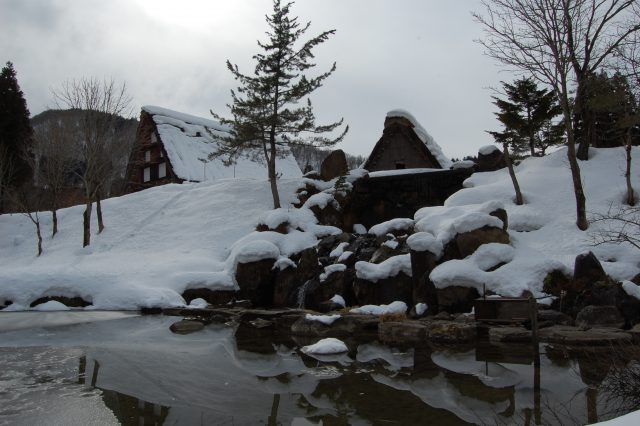 Le antiche case 'gassho-zukuri' di Shirakawa-go