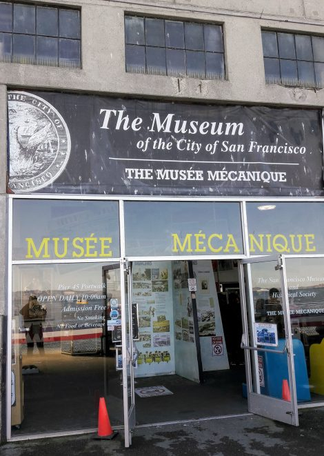 Musée Mécanique, San Francisco
