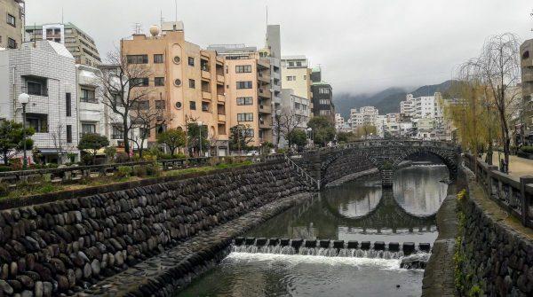 Nagasaki: Meganebashi, il ponte degli occhiali XVII secolo