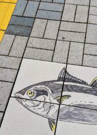I marciapiedi di Katsuura