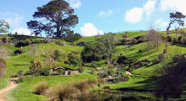 itinerario di viaggio in nuova Zelanda: Hobbiton è imperdibile