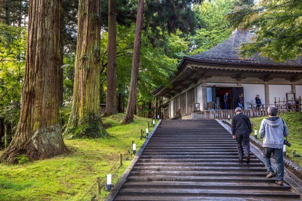 Hiraizumi, l'entrata del Konjikido