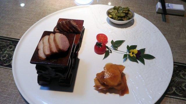 La cena da Bang Yuan (伴園), il raffinato menu degustazione costa circa 30 euro a testa