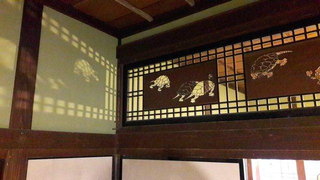 Un dettaglio della casa di Ishiguro, Kakunodate