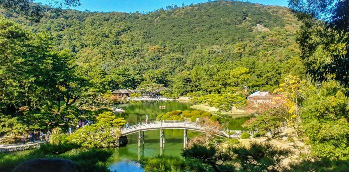 Il giardino Ritsurin di Takamatsu