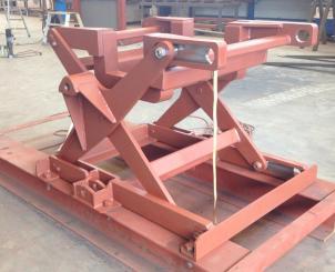 10 tonns løftebukk - Fagprøven utført av vår Industrimontør lærling