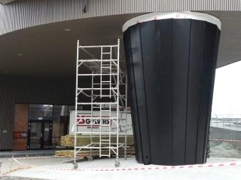 Stiletthælen til bygget Speilet ved Solsiden