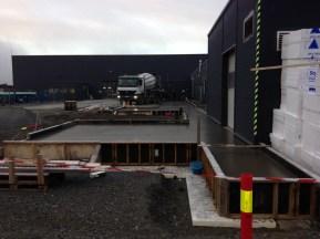 Bredero Shaw - Utvidelse av betonggulv