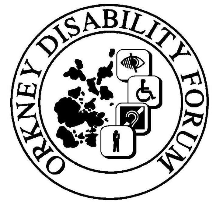orkney disability forum logo