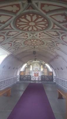 Inside the stunning Italian Chapel