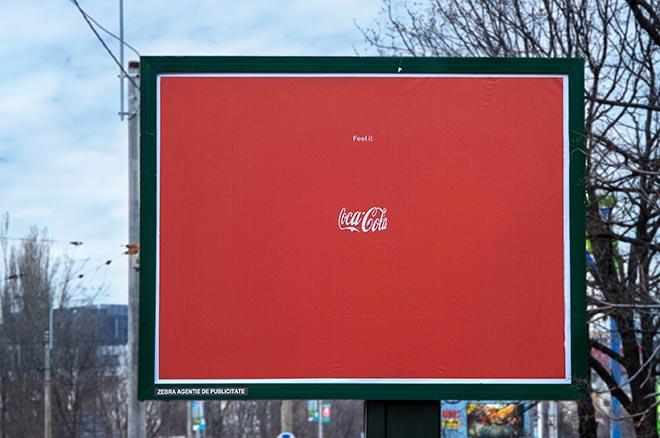 Coca Cola Invisible Bottle