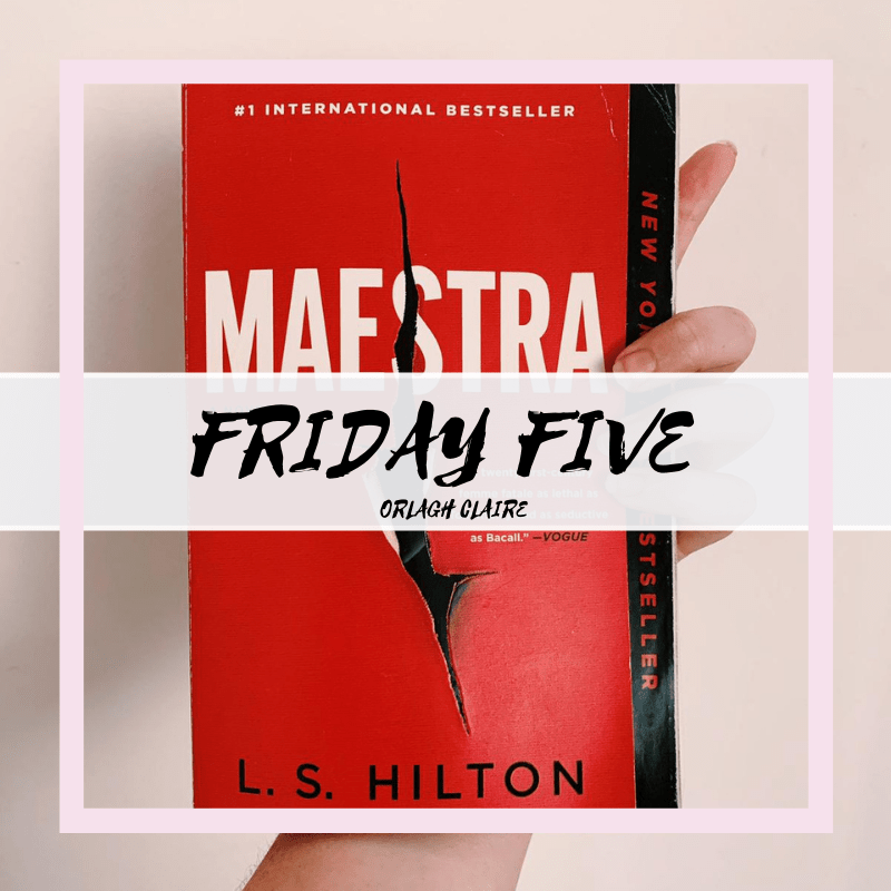 #FridayFive: Five Books I've Recently Read | Chapter 13