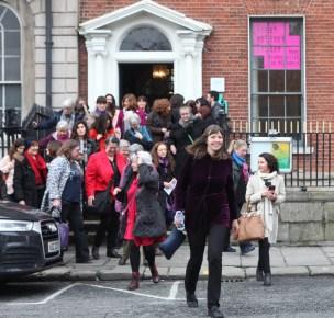 WomenXBorders spill onto the streets of Dublin