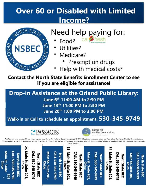 NSBEC Drop-in Assist Flier Orland Library PDF