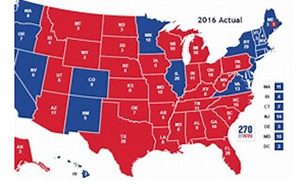 "The ""Red Wave"" of 2016: Another View of the Maps"