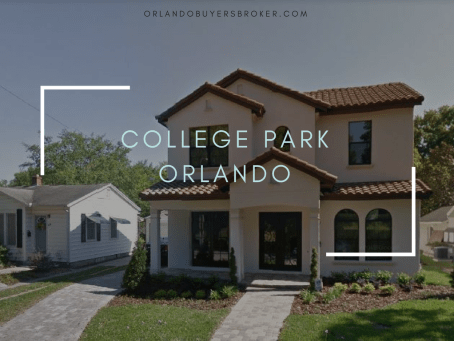 One of the Best Neighborhoods in Downtown Orlando - College Park