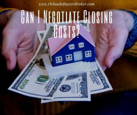 Can I Negotiate Closing Costs?