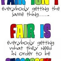 Fair Is..