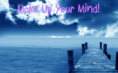 Make Up Your Mind orlando espinosa