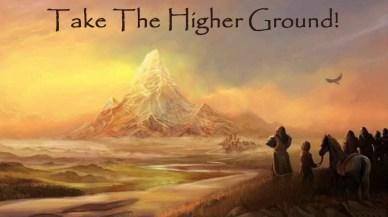 Take the higher ground-orlando espinosa
