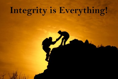 your integrity is everything-orlando espinosa