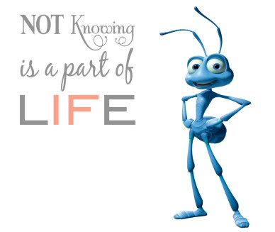 Not Knowing Is Part Of Life orlando espinosa