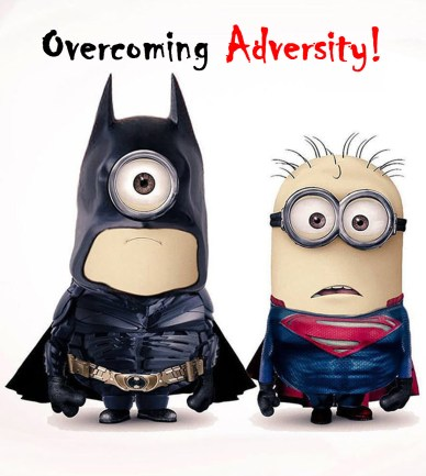 overcome adversity orlando espinosa Batman and Superman