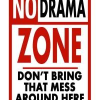 No Drama Needed