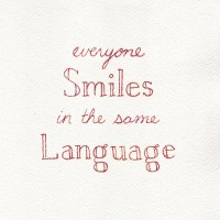 Smiling is Universal