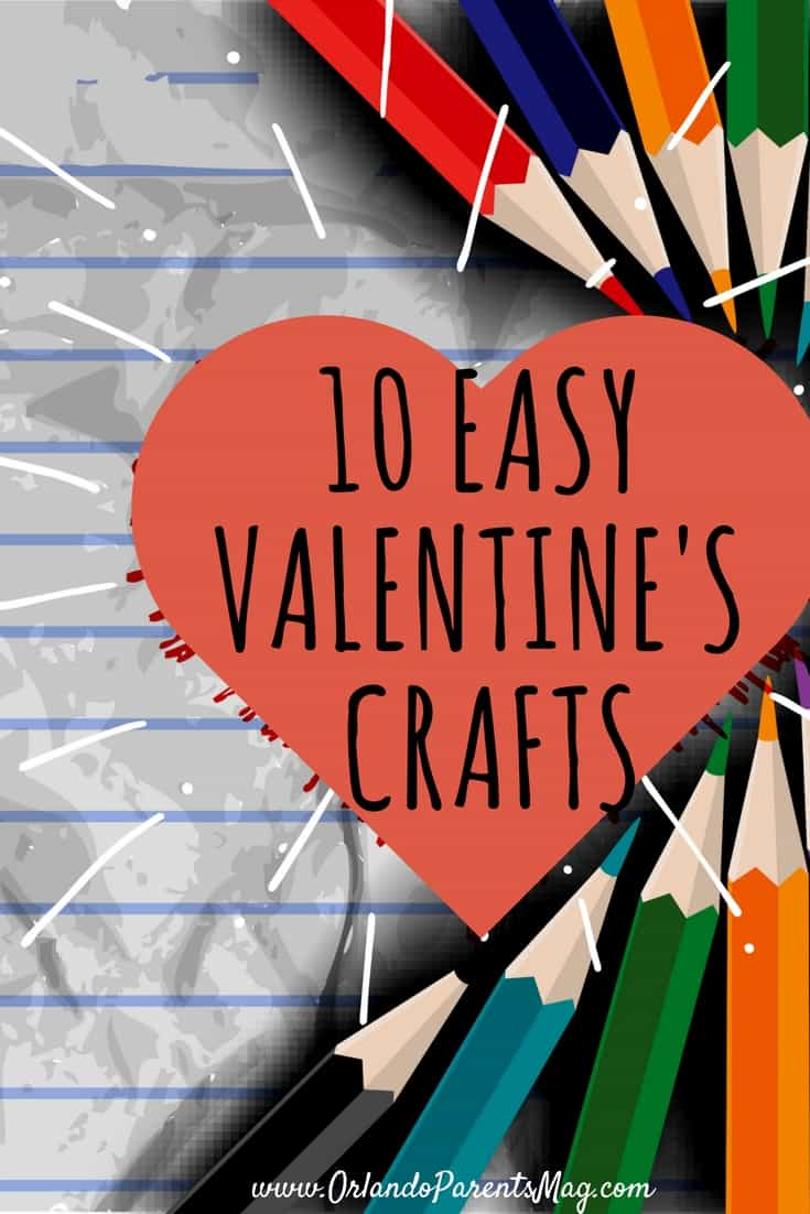 10 Easy Valentine's Crafts to Do with Kids