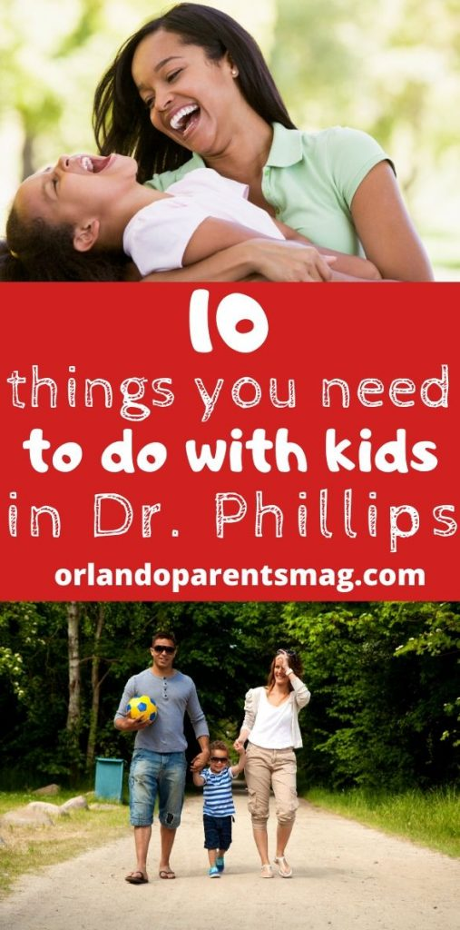 what to do with kids in dr phillips
