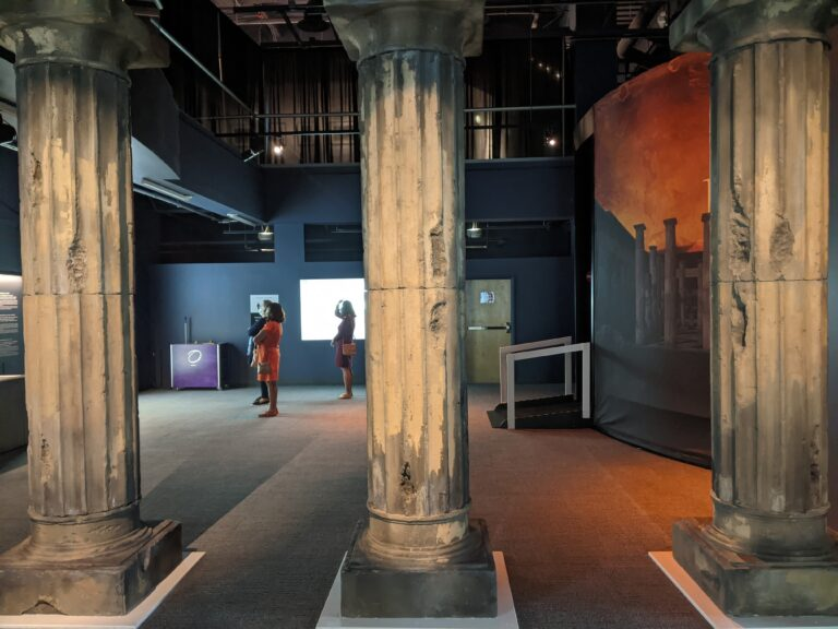 Visiting Pompeii: The Immortal City at Orlando Science Center