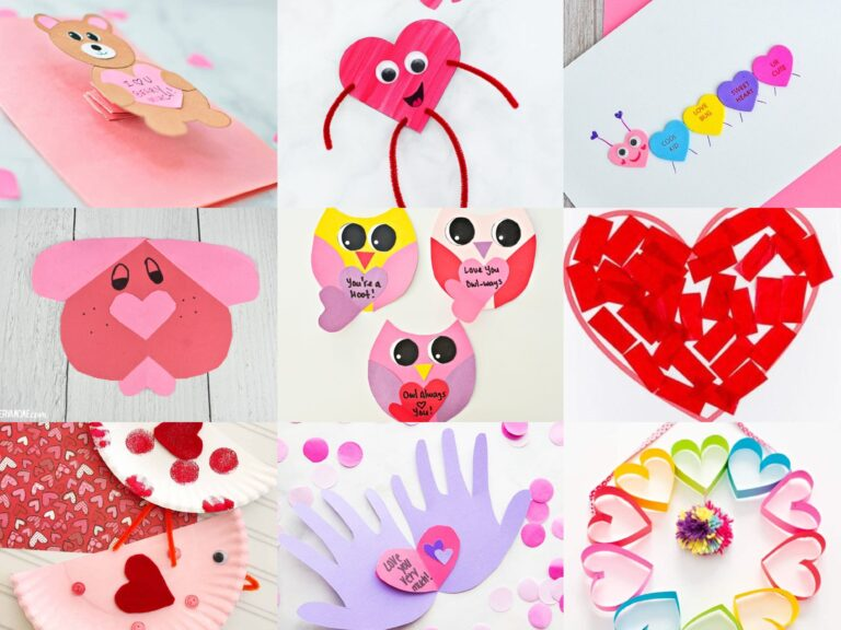 Valentine's Crafts to do with the Kids