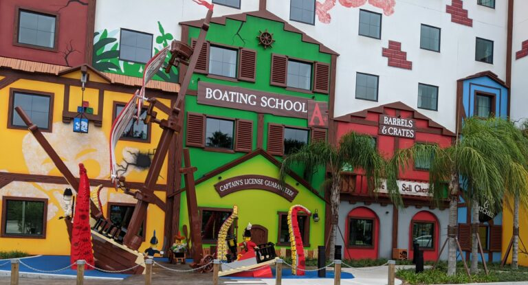 Joining a Pirate Crew: Review of the Legoland Pirate Hotel
