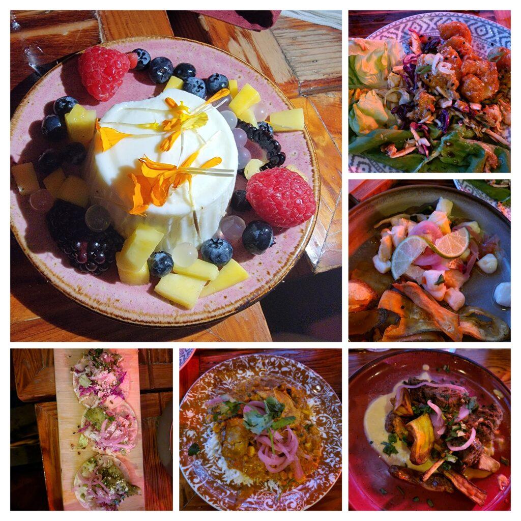 what to eat at cafe tu tu tango