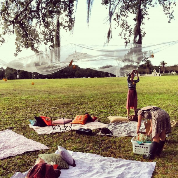 Visit Blue Jacket Park for lots of open spaces & green grass