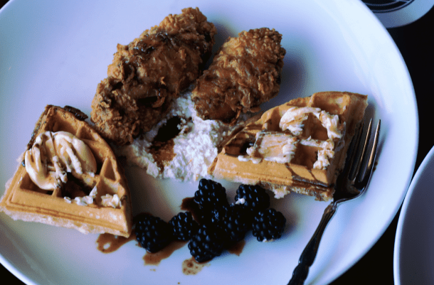 Cask & Larder - Brunch Review Orlando Chicken and Waffles
